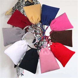 Wholesale Jewelery Bags Pouches - Jewelery Box Gift Packaging Factory Wholesale Hot Sale Fashion Jewelry Rings Necklaces Earrings Velvet Bag Christmas Birthday Candy Bag