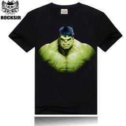 Wholesale Hulk T Shirts - Wholesale-[Rocksir] 2015 New Mens T shirts Manny Pacquiao Summer 3d Shirts Comic Hulk T-shirts Assassins Creed O Neck for Men Camisa Sport