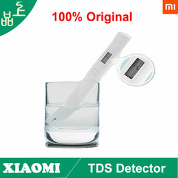 Wholesale Digital Tds Meter Tester Filter - 100%Original Xiaomi TDS Detector Portable Detection Pen Digital Water Meter Filter Measuring Water Quality Purity Tester Meter
