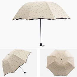 Wholesale Folding Anchor - 20pcs lot Portable Arched Design Folding Umbrellas Foldable Anchor Style Parasols Women's Summer Outfits H208