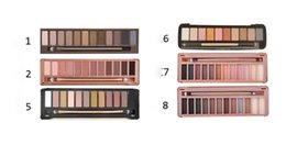 Wholesale Eye Shadows High Quality - HOT New Makeup Eye Shadow Nude 1 2 3 5 6 7 8 12Colors Eyeshadow Palette High Quality