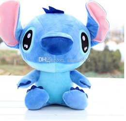 Wholesale Lilo Plush - Hot Sale 35CM Fast Free Shipping Stitch Cartoon Lilo and Stitch Plush Toys Famous Cartoon New Arrival