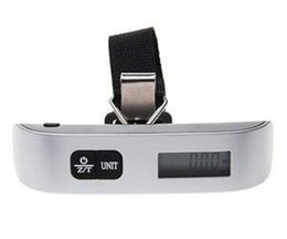 Wholesale Mini Scales For Sale - 2014 New Digital Hanging Luggage Balance Scale Portable Weight mini 50kg Electronic Scale For Sale