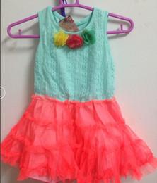 2019 12-месячные девушки фиолетового платья Самый дешевый ! !Детская одежда три цветочницы детское платье