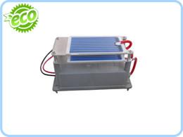 Wholesale Ozone Generator Ceramic Plate - 220V 110V Double Ceramic Plates Ozone Generator 7g to Kill Fungis and Bacterias 1pc Start +Free Shipping