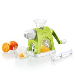 Wholesale Vegetable Juice Maker - Anself Multifunctional Manual Vegetables Fruit Juicer Lemon Orange Squeezer Juice Maker Household Kitchen Tool
