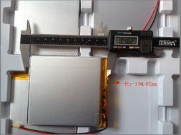 Wholesale Taipower Tablet - Original 3.7V 6000 mA lithium polymer batteries Taipower P85 Tablet PC Onda V972 battery