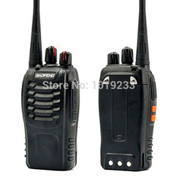 Wholesale Cheap Way Walkie Talkies - Wholesale-BaoFeng BF-888S 5W Cheap Digital Walkie Talkie Handheld Two Way Radio With 400-470MHz UHF Interphone Intercom Transceiver