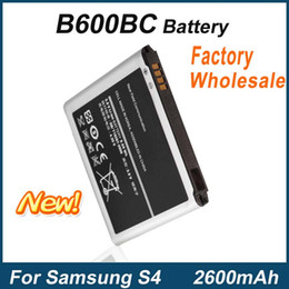 Wholesale Galaxy Wholesale Prices - For Samsung Galaxy S4 i9500 i9505 i9295 Mobile Phone B600BC Battery Factory Price Fast Delivery