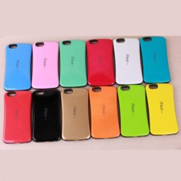 Wholesale Iphone 4s Iface Cover - For iPhone7 iface Case for iPhone 7 Phone 7 Plus 6s 6s Plus 4s 5s 5c for Galaxy S7 S7 edge S5 S6 edge Plus PC + TPU Back Cover 20pcs up