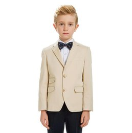 Wholesale Small Children Picture - flower girl dress costumes new cuhk boy fashion suits for wedding boy children small suit suit flower girl dress(jacket+pants )q037