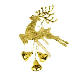 Wholesale Gold Hair Ornament - Free Shipping DHL Christmas Party Supplies Fashion Christmas Tree Ornaments 2015 Christmas Party Decorations Christmas Deer Ornaments 15