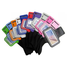 Wholesale Sports Running Armband - For iPhone 8 Armband Case for iPhone 7 6s for Galaxy S8 S7 S3 S4 S5 S6 Sport Gym Running Belt Splashproof Cover 20pcs up