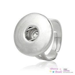 Встроенные шкафы онлайн-Медные регулируемые красивые кольца серебряный тон подходят защелки красивые кнопки 17,5 мм (США 7,5),5шт (B34194) кнопка электронная кнопка кабинета