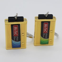 Wholesale Unique Engine - 2015 Car Parts Mini Engine Management System Keychain Keyring Key Chain very cool car key ring, allowing you to have a unique home Keychain