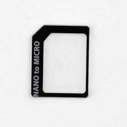 Wholesale Microsim Sim Nano - Wholesale-SIM MICROSIM Adaptor Adapter 3 in 1 for Nano SIM to Micro Standard for Apple for iPhone 5 5g 5th