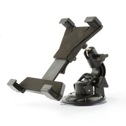 Wholesale Tablet Inch Car - Mounts Holder Universal Bracket New 7 8 9 10 inch Tablet Car Holder Universal soporte tablet desktop Windshield Car mount cradle