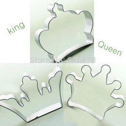 Wholesale Cutter Biscuits - 3 style Crown special party baking biscuit cookie cutter set cake decorating tools Free Shipping order<$18no track
