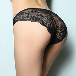 Wholesale Women White Panties - Multi colors Underwear For Women Lace Cute Brand Panties Seamless Cotton Breathable Panty Hollow Briefs Girl Sexy intimates