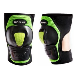 Wholesale Cycling Gear For Women - WOSAWE Skate Protective Gear Adjustable Knee Pads Brace Support Pad Sports Training for Adult Men & Women for Skiing Skating Cycling Sports