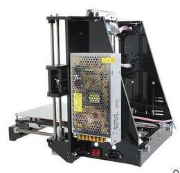 Wholesale 3d Printers Wholesale - Reprap Stampante 3D Printer Hot Sale 3d Prusa i3 Full Acrylic Frame MK8 Extruder LCD2004 of 2016