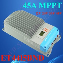 Wholesale Solar Controller Mppt 48v - 2016 new MPPT function 45A 48v solar charge controller ce rohs solar regulaters