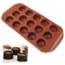 bandejas de sabão de silicone Desconto Novos botões de Silicone sabonetes molde de chocolate molde do bolo de doces molde de bandeja sugarcraft molde de silicone make fab decorações do bolo