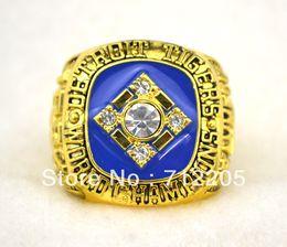 Wholesale Detroit Ring - Free shipping replica 18K gold 1984 Detroit Tigers Baseball World Championship Ring Size 11-TRAMMELL