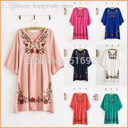 Wholesale Summer Maternity Blouses - Wholesale-Summer Pregnant Dress Blouses Shirts Clothes Top Maternity Dresses Clothing For Pregnancy Plus Size 2015