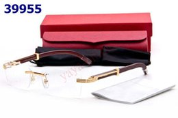 Wholesale Health Glasses - rimless glasses eyeglass frames health&beauty vision spectacle frame good lenses with box tags booklet
