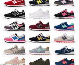 Wholesale Orange Rubber Bands - Spring Unisex Zapatos New Casual Balancedn 574 men women New Casual Balanceds men women Fashion shoes Size 36-44 B
