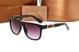 Wholesale Black Mirror Pc - Luxury Polarized Sunglasses Women Men Brand Designer Retro Vintage Sun Glasses For Women Men Male Ladies Female Sunglass Mirror