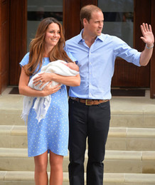 Robe à pois femme princesse enceinte robe Kate Middleton robes WF006 ? partir de fabricateur
