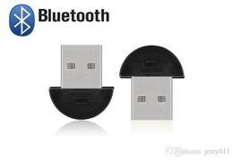 Usb bluetooth adapter edr онлайн-Bluetooth и USB 2.0 Dongle адаптер маленький Bluetooth адаптер версии v2.0 EDR и USB ключ 100 м портативных ПК