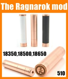 Wholesale Top Quality Mechanical Mod - The Ragnarok Mod Fit RDA Atomizer Tank 510 Thread 24mm Mechanical Mod Fit 18350 18500 18650 Batteries 2015 Top Quality DHL Free TZ469