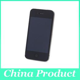 Wholesale Cheap Iphone Backs - Cheap Original Refurbished Apple iPhone 4 3.5 inches kamera 5mp 3G Wifi gps 16GB 32GB ROM Original Unlocked Smartphone