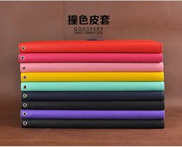 Wholesale Ipad Mercury - Mercury Wallet Leather PU TPU Hybrid Soft Case Folio Flip Cover for iPad Mini 1 2 3 iPad 2 3 4 Air with Package free DHL
