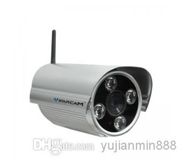 Wholesale Outdoor Night Vision Cctv - 50m IR Cut 4 LED Arrary Night Vision Bullet Waterproof Monitor Home Security Surveillance System CCTV IP Camera outdoor