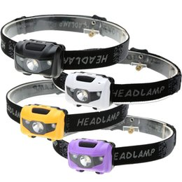 Wholesale Cycle Headlamp - 400 Lumens 3W LED Headlight Waterproof Headlights Headlamp Head Lamp Cycling Hiking Camping Hunting (AAA Battery Power Supply)