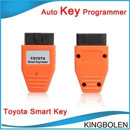 Wholesale Chip Keys Auto - New Professional Toyota Smart Key Programmer Auto Keymaker OBD for 4C and 4D Chip DHL Free Shipping