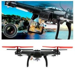 Wholesale Fixed Wing Helicopter - New WLToys V686 FPV Drone V686G DV686 DV686G FPV RC Quadcopter 2.4G 4CH 5.8G FPV RC Helicopter With Camera Headless Mode FPV RTF