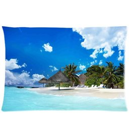 Wholesale Life Style Case - Cool Pillowcase Beach life Style Pillow Case (Twin Sides)(20x30 Inch)