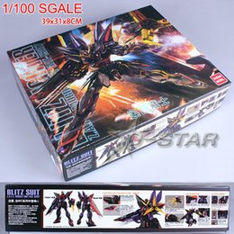 Wholesale Gundam Assembly Robots - Free Shipping am MG 6651 1 100 Scale Assembly Toy Figure Collection Model