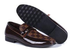Canada Vente chaude Oxford Chaussures Pour Hommes Casual Forme Hommes Robe Robe Automne Oxford Respirant Chaussures Glissement Sur Noir Brun Taille 40-47 Offre