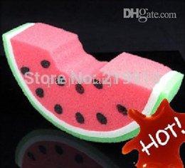 Wholesale Sponge Magic 11 - Wholesale-Free Shipping 2 pcs lot Sponge Watermelon --Magic Trick, Fun Magic, Party Magic.