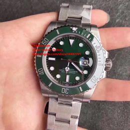 Wholesale Swiss Movement Dive Watches - 2 Color Best Edition Classic Dive Watch NOOB Factory V7 40mm Ceramic 116610 116610LN 116610LV Swiss ETA 3135 Movement Automatic Mens Watches