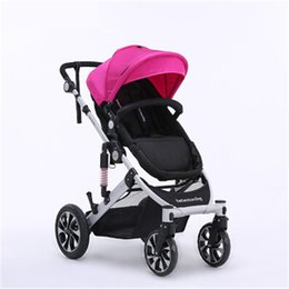 Wholesale Baby Joggers - Baby stroller ultra light Hot-selling super suspension stroller carrier pram by jogger handcart, ultralight baby stroller