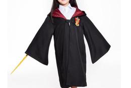Theme / Movie Cosplay Kostüm Harry Potter Cosplay Gryfinndor Umhang für Erwachsene und Kinder Schwarze Robe Alle Größen von Fabrikanten