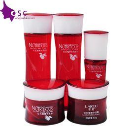 Wholesale Original Bb Creams - Wholesale-OMYU Skin Care Set Facial cleanser 100g toner bb cream 30ml eye cream15ml Hyaluronic Acid original liquild 30ml face cream 50g