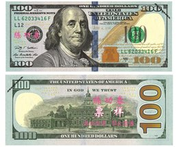Wholesale Old Art Crafts - 100PCS USA New $100 Training Banknotes Bank Staff Learning Dollars Movie Props Money Commemorative Home Decoration Arts Crafts